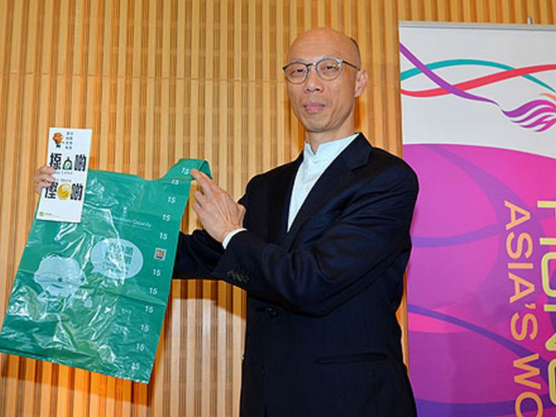 Secretary for Environment Wong Kam-sing.