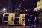 tram tip over