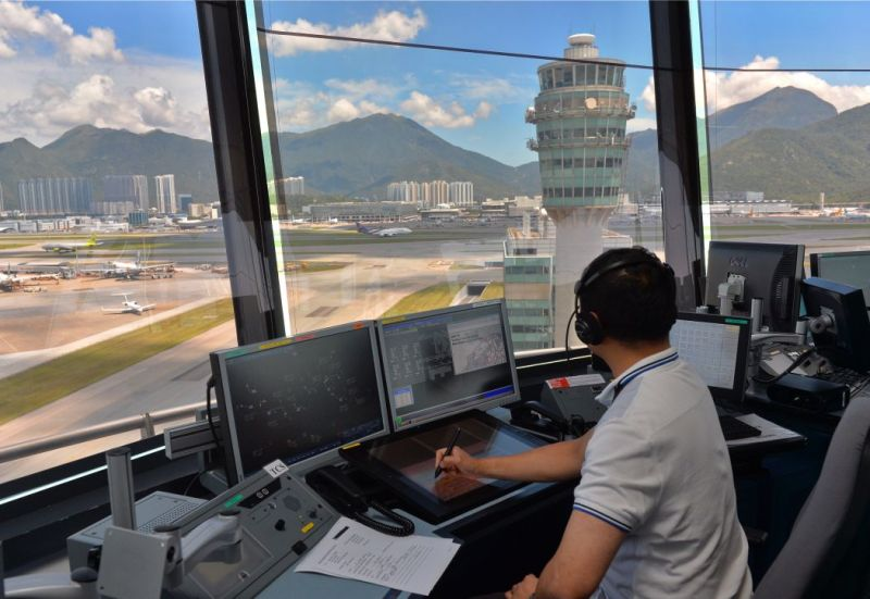 airport air traffic management system