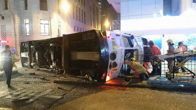 tram accident