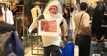 fedex shark fin shipment