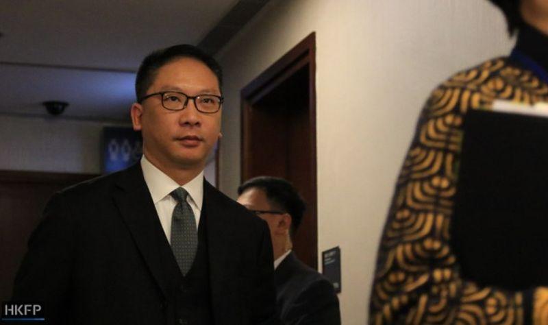 yuen kwok-keung secretary for justice