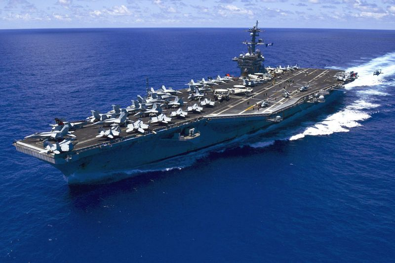 Navy US United States aircraft carrier