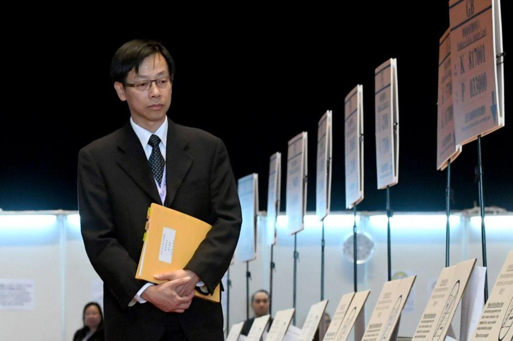 Chief Electoral Officer Wong See-man