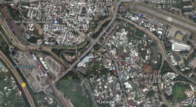 Kam Tin Yuen Long Kam Sheung Road