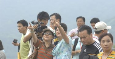 chinese tourists in taiwan