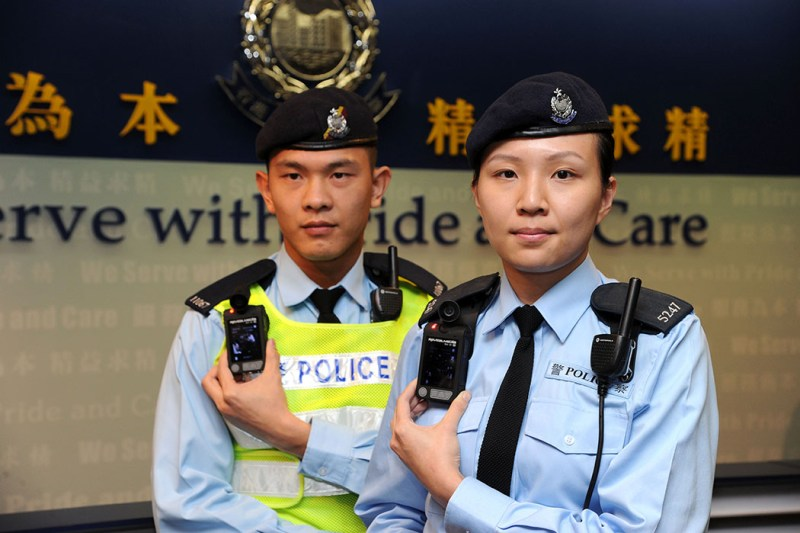 Police body worn video cameras