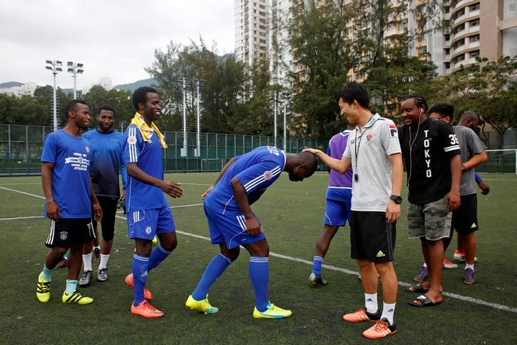 refugee football hong kong