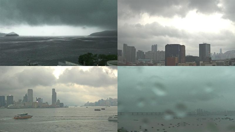 rain hong kong