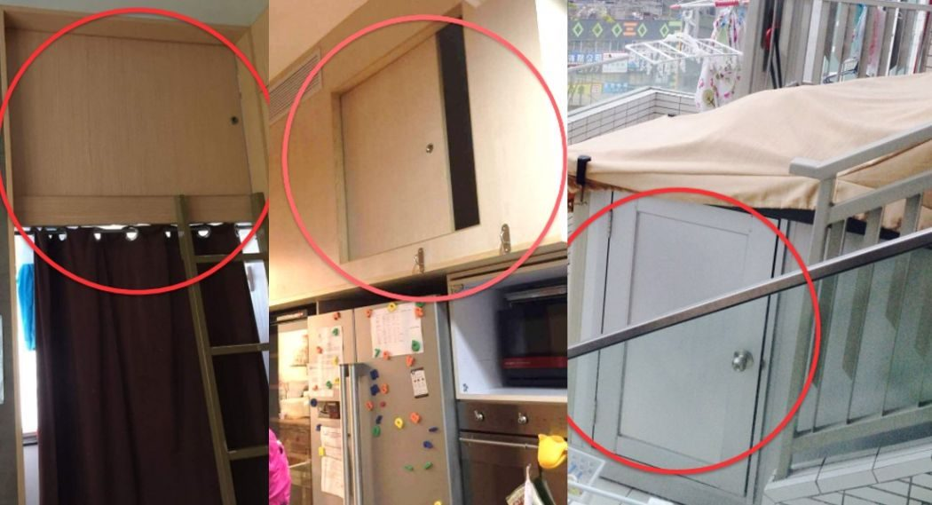 Living conditions of domestic workers.