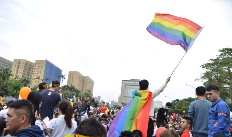 same-sex gay lgbt lgbtq marriage taiwan