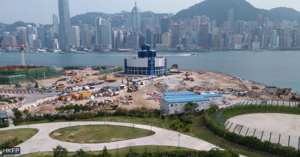 west kowloon m+ skyline