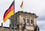 Berlin Bundesregierung Germany flag
