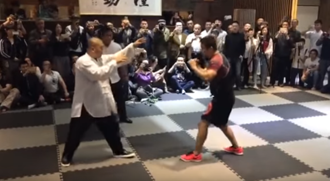 Mma Fighter Uses His 10 Second Defeat Of Tai Chi Master To Challenge