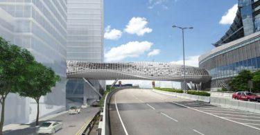West Kowloon Cultural District Artist Square Bridge footbridge
