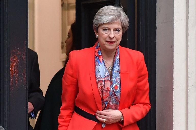 Theresa may don't use