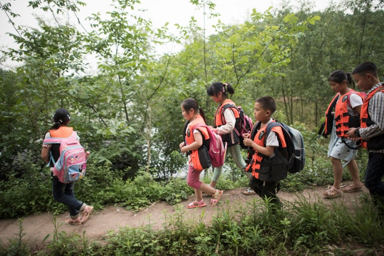 china children backpacks