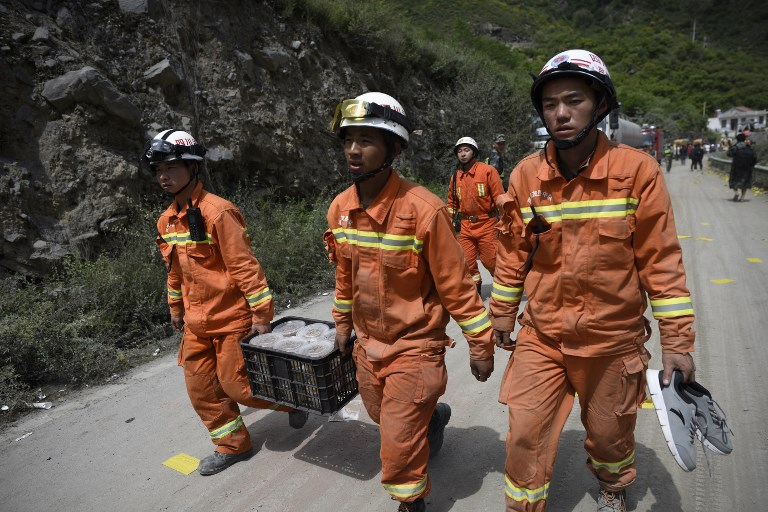 Xinmo landslide
