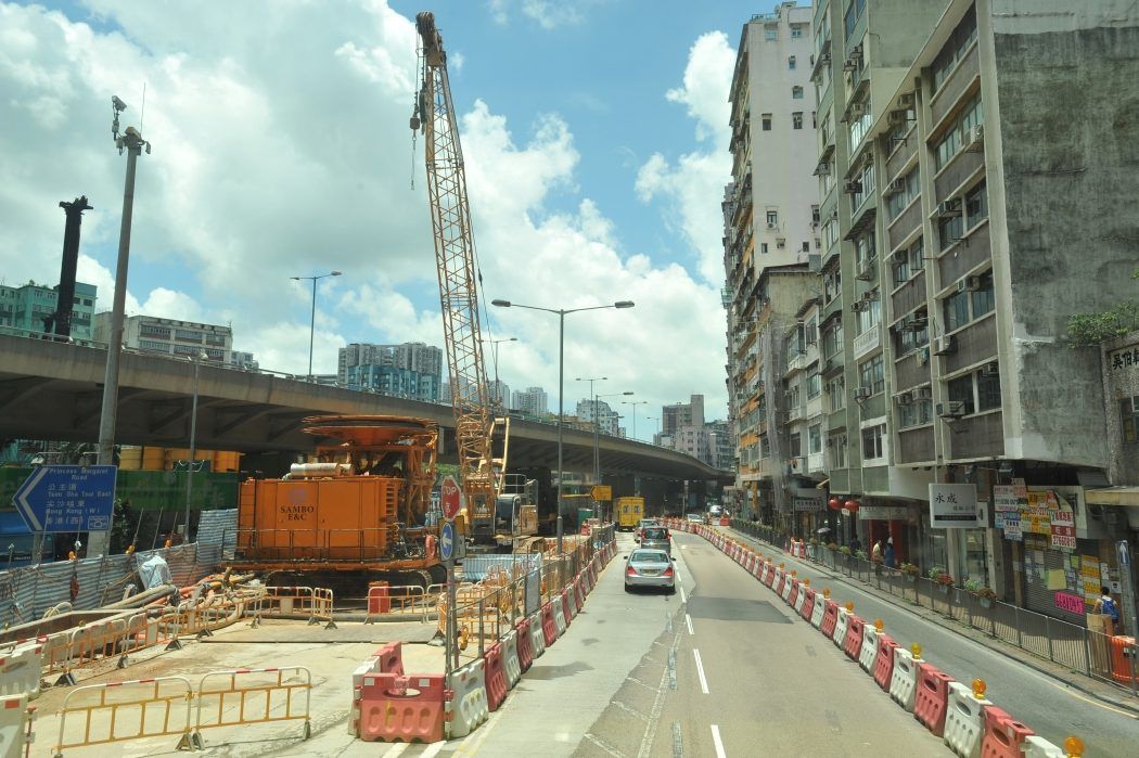 Shatin to central link Ma Tau Wai