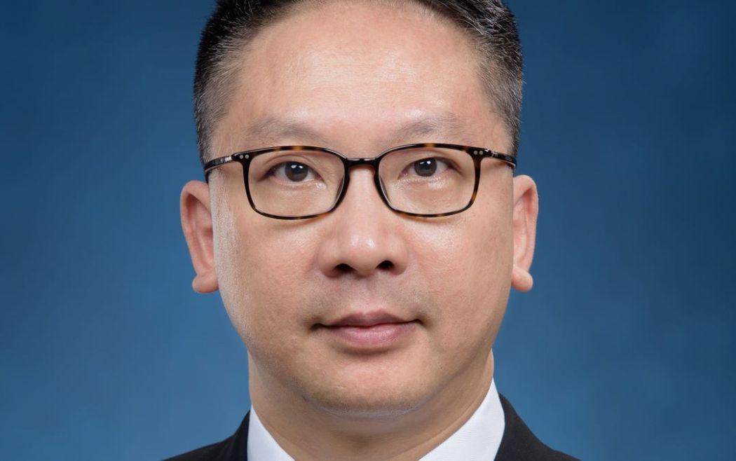 Secretary for Justice Mr Rimsky Yuen Kwok-keung, SC.