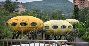HK Urbex Taiwan space pod UFO home house