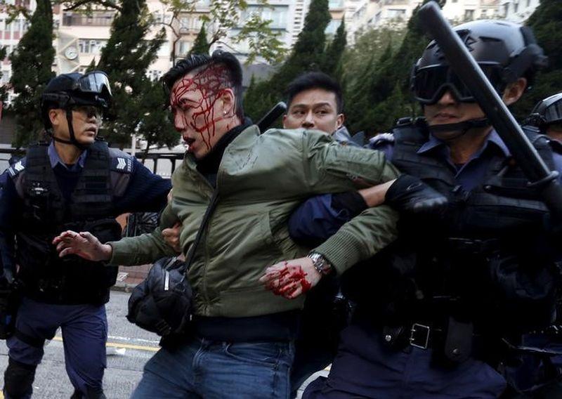 fishball revolution mong kok clashes riot unrest