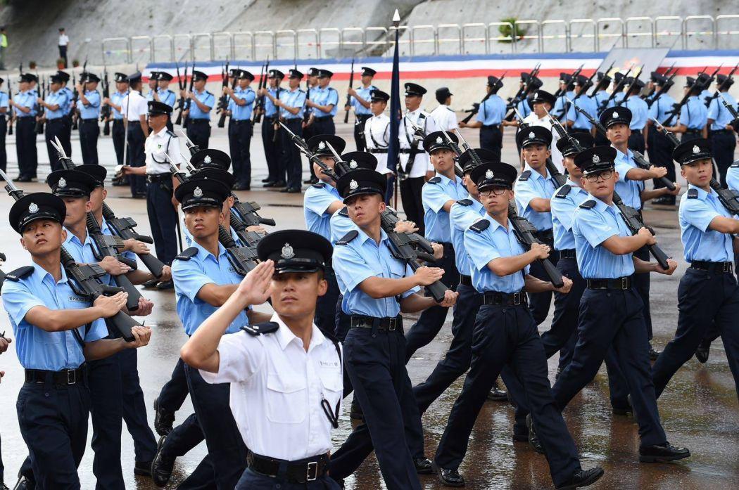 hk20 handover hong kong police