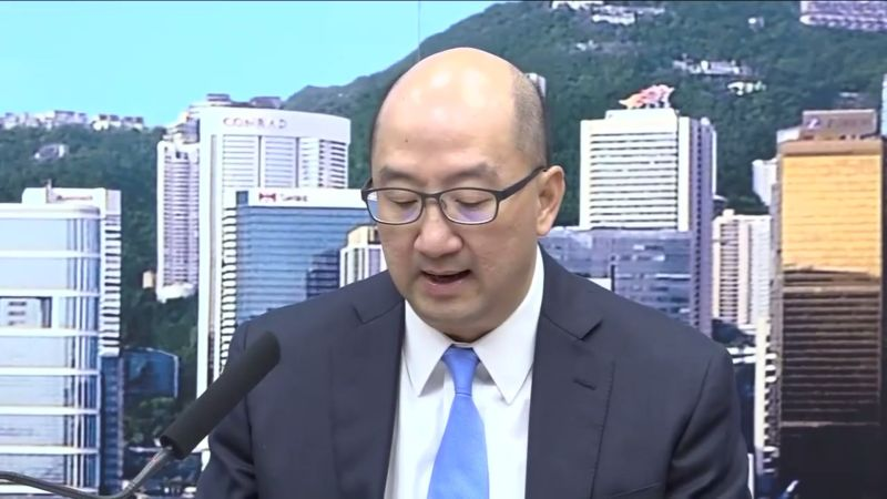 Secretary for Constitutional and Mainland Affairs Bureau Raymond Tam Chi-yuen