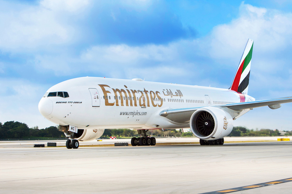 Emirates airline says it intended to recall all flag pins
