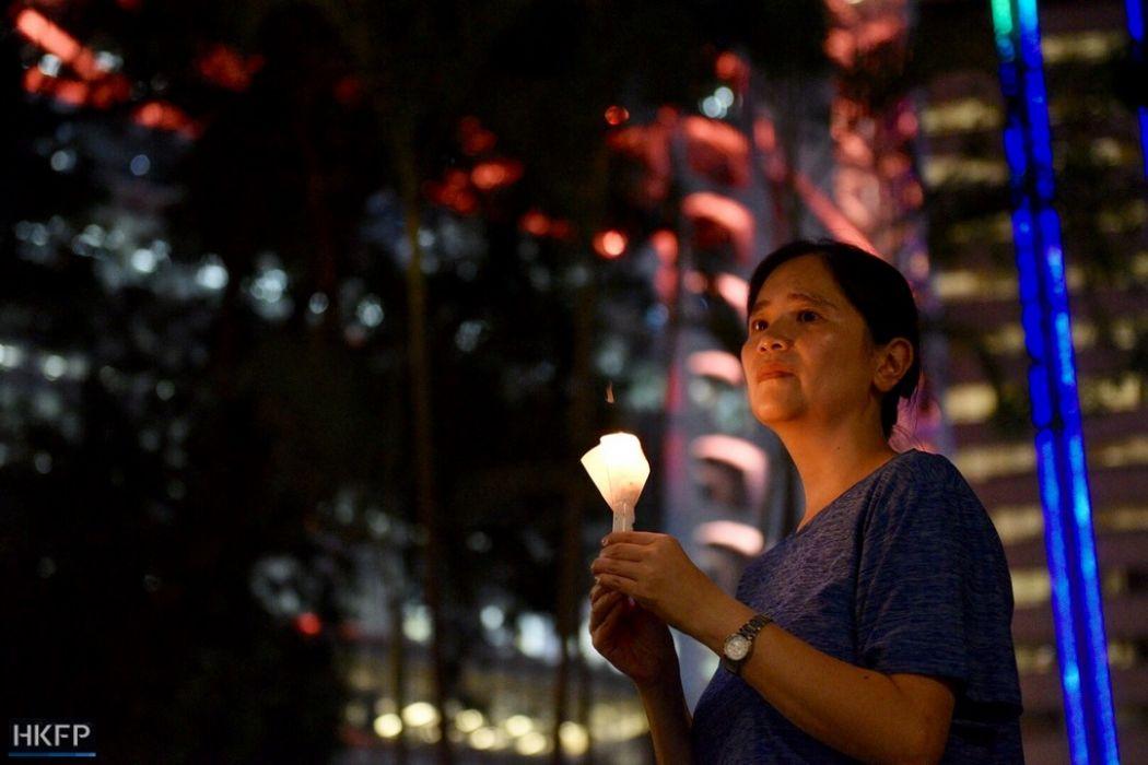 Liu Xiaobo vigil Central
