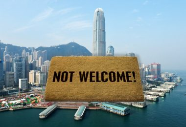 hong kong not welcome