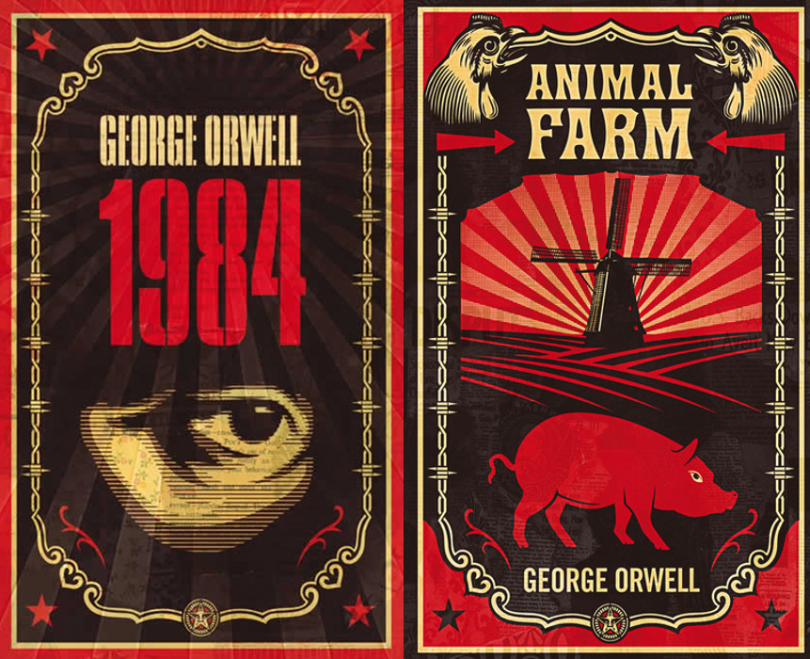 a metaphor for the life in the ussr in the novel animal farm by george orwell Animal farm is an allegorical novella by george orwell, first published in england on 17 august 1945 according to orwell, the book reflects events leading up to the russian revolution of 1917 and then on into the stalinist era of the soviet union.