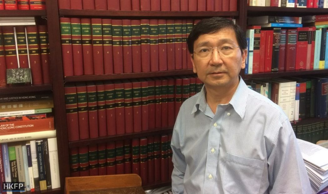 Johannes Chan Man-mun Law Professor University of Hong Kong HKU