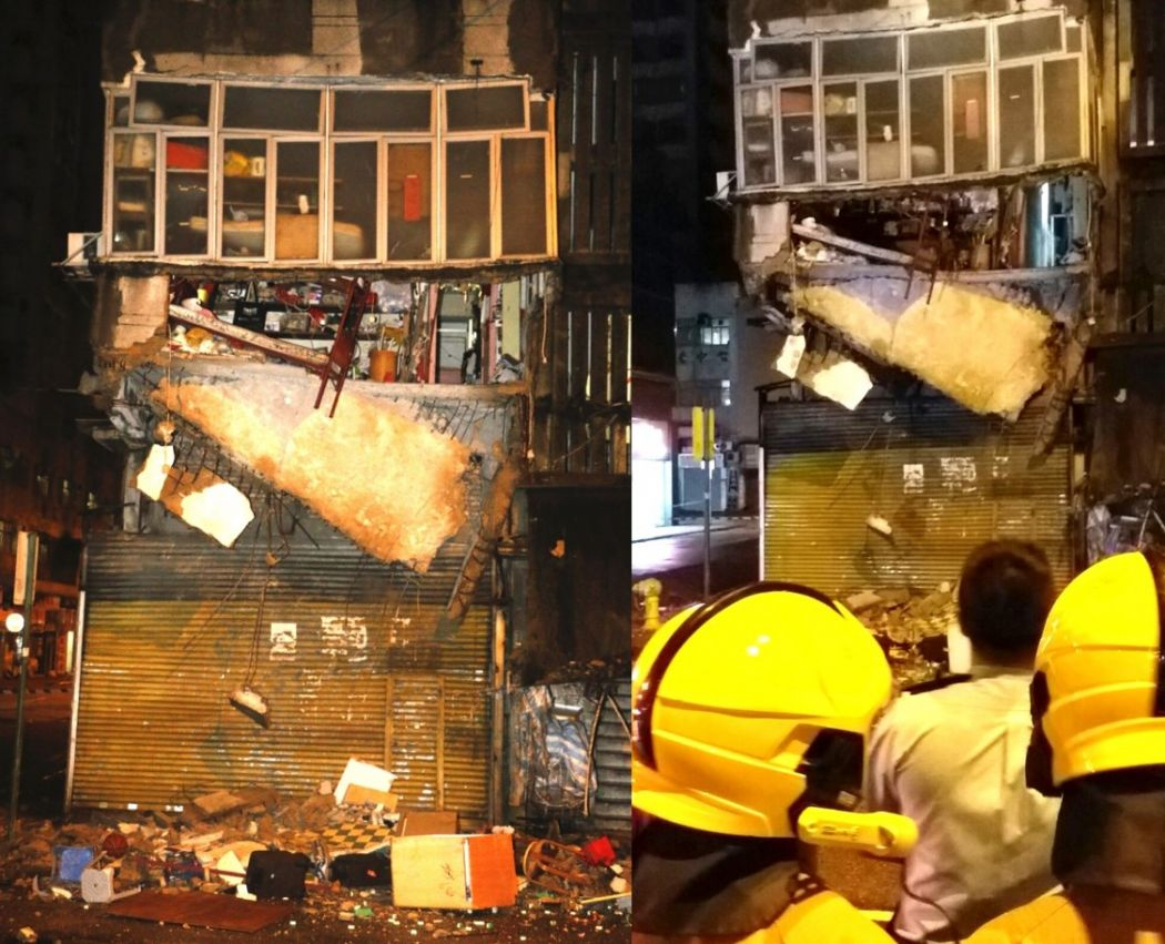 hung hom building collapse