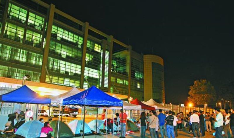 Apple Daily building headquarters Tseung Kwan O Occupy Protests