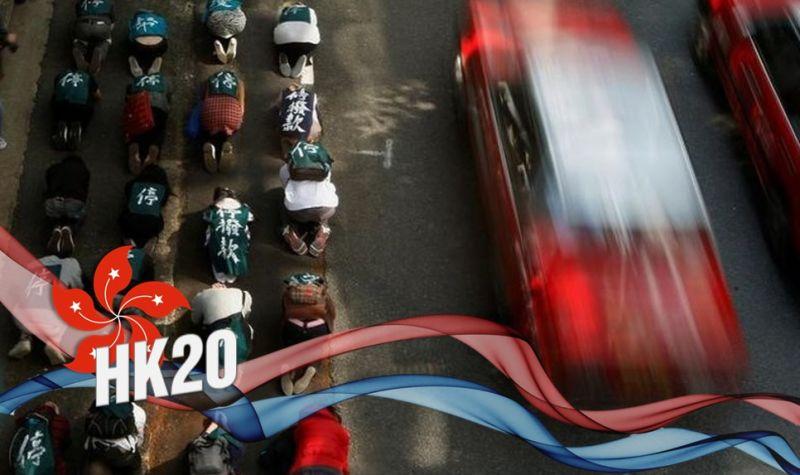 High speed rail protest choi yuen village