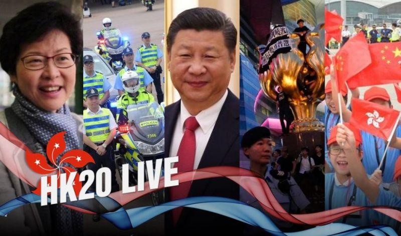 hong kong free press handover live
