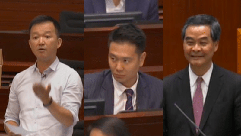 cy leung holden chow ray chan