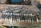 Syringe Discovery Bay Sam Pak Wan marine waste litter