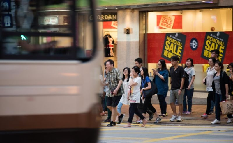 Pollution Hong Kong Road roadside air quality