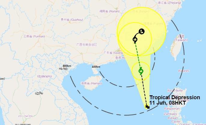 typhoon hong kong