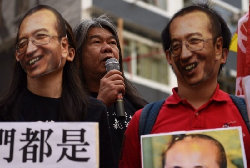 long hair liu xiaobo