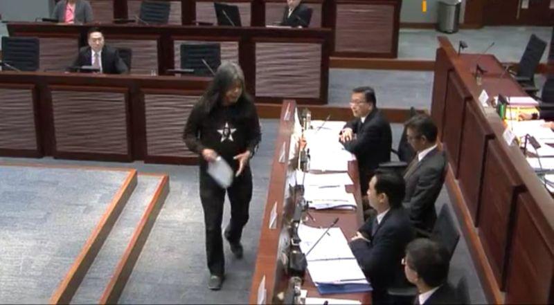 Leung Kwok-hung Long hair Eric Ma Siu-cheung