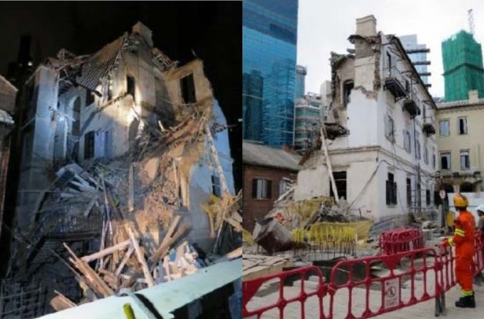 Central Police Station Collapse