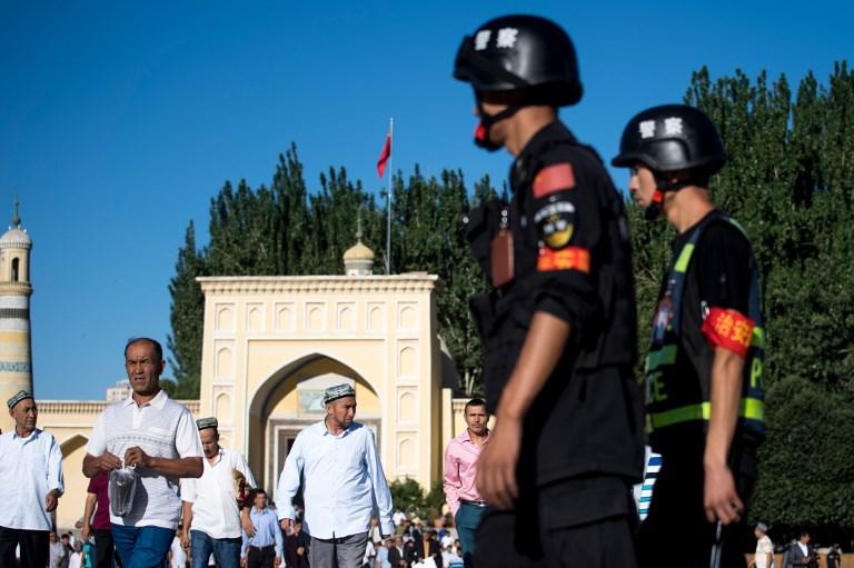 xinjiang police