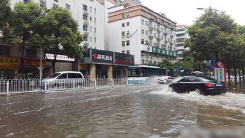Hunan Central China SOuthern China flood