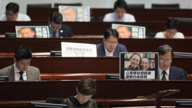 liu xiaobo hong kong legislature