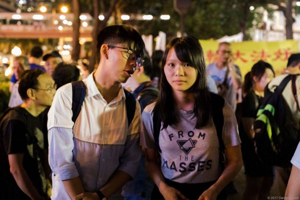 demosisto liu xiaobo democracy july protest rally wanchai wan chai