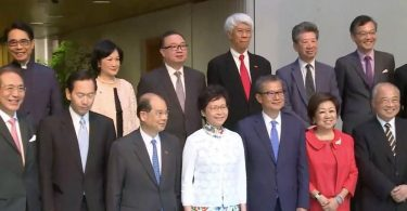 carrie lam executive council