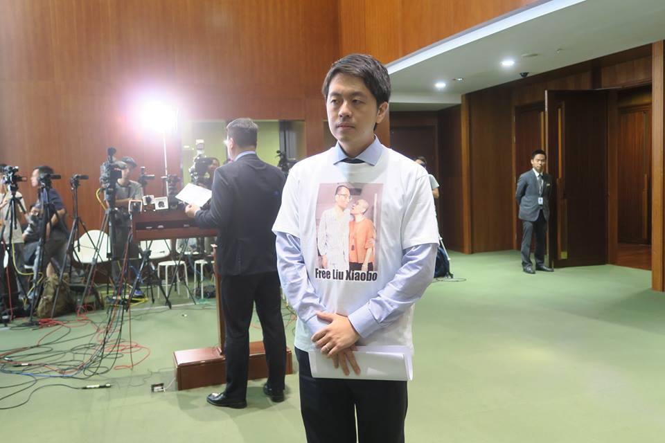 ted hui liu xiaobo hong kong legislature